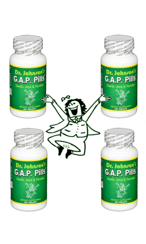 GAP Pills - 4 Bottles - On Sale