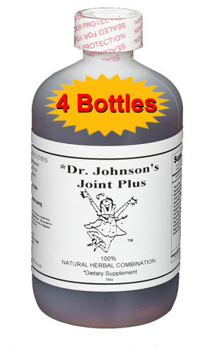 Joint Plus 18 oz. (4 Bottles)