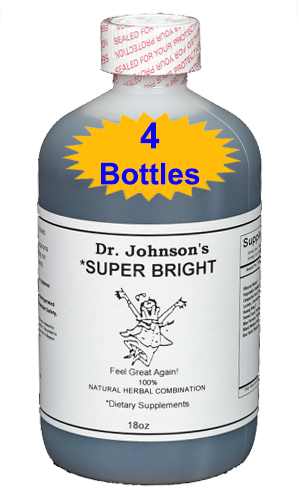 Super Bright - 18 oz (4 Bottles)
