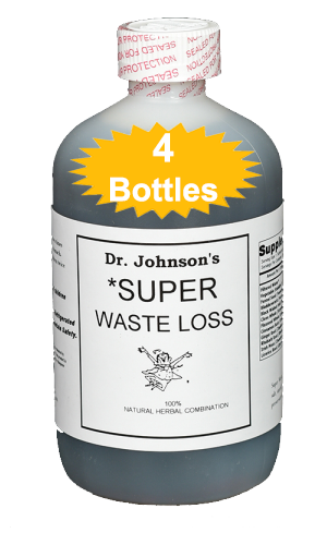 Super Waste Loss - 18 oz (4 Bottles)