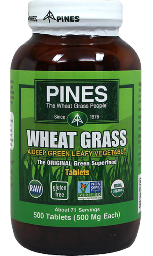 Wheatgrass Pines (250 Tablets)