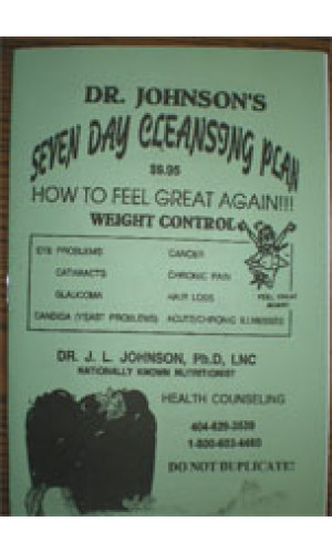 The Seven Day Cleansing Plan